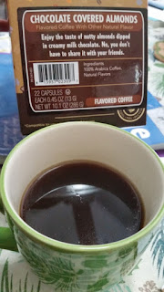 Chocolate Covered Almond flavored coffee