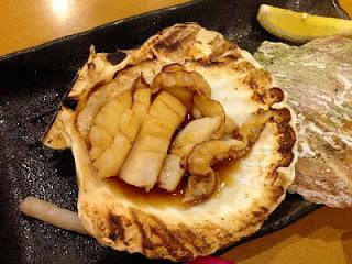Hotateyaki ; Grilled Scallop