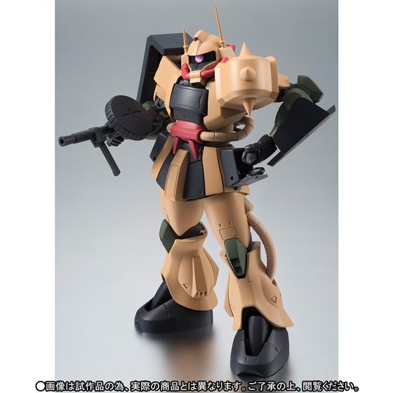 Bandai ROBOT SPIRITS SP MS-06D Zaku Desert Type Caracal Corps ver A.N.I.M.E.