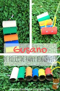 http://haciendomiarte.blogspot.mx/2016/07/gusano-del-rollo-de-papel-higienico.html