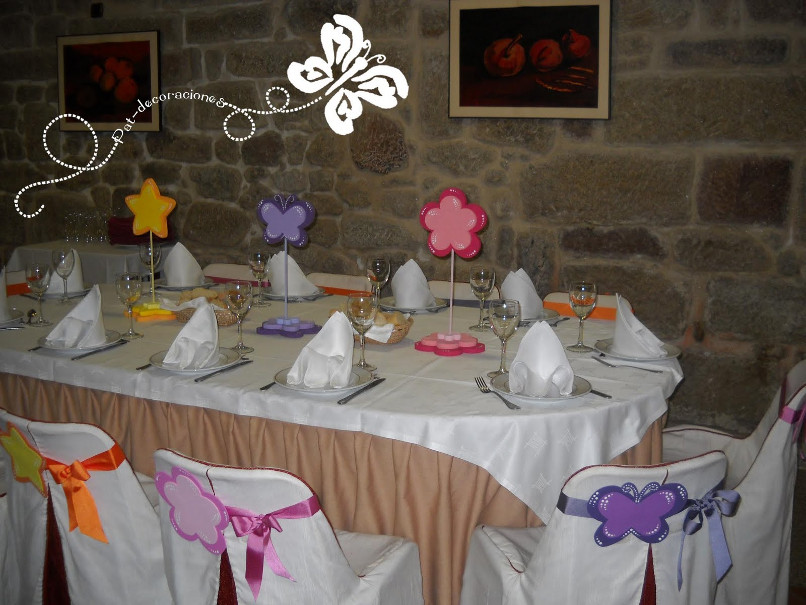 Decoracion Mesas De Comunion Pat Decoraciones 06 01 2011 07 01 2011