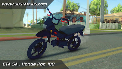 GTA SA - Honda POP 100 - BoladeX-full 1