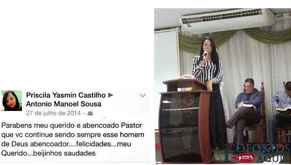 selfie transando com pastor