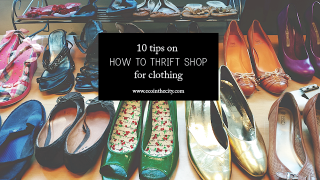 10 tips on how to thrift shop for clothing
