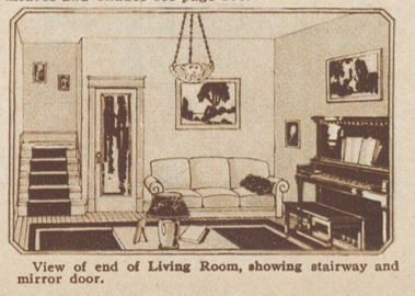 sears americus living room 1925 catalog