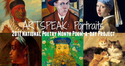 "ARTSPEAK! Portraits poem ""Self-Portrait as a Painter"""