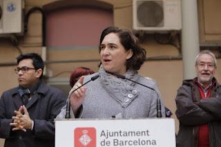 Barcelona's mayor Ada Colau