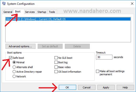 cara hapus folder yang tidak bisa dihapus di windows