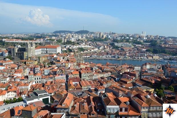 Oporto, vista dalla Torre dos Clerigos