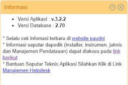 Update Dapodik Paud 3.2.2