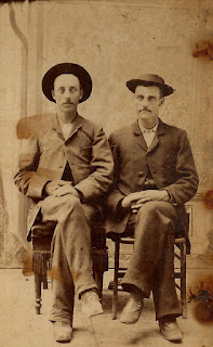 photo antique victorian men portrait image