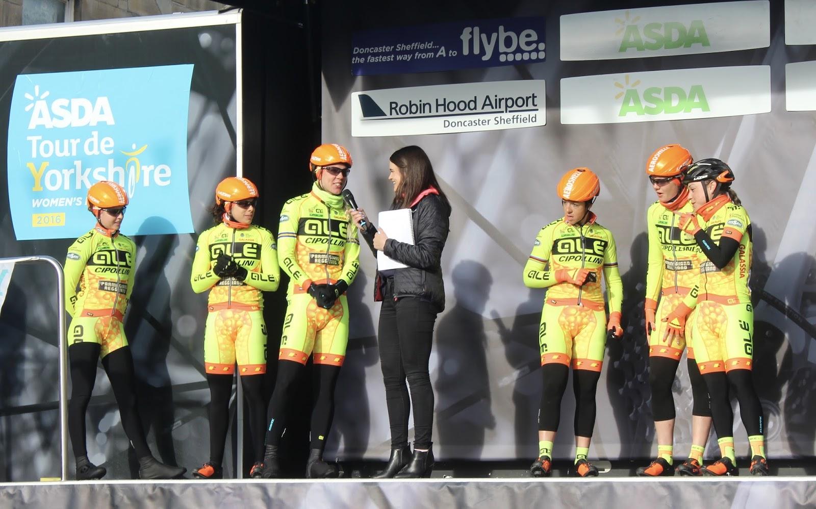 Tour De Yorkshire: Women's Race