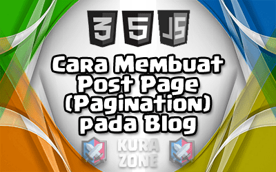 Cara Membuat Post Page (Pagination) pada Blog (Blogger)