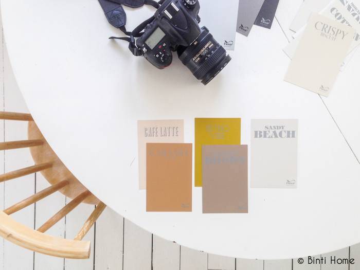 Colour Creations kleurenpalet Flexa