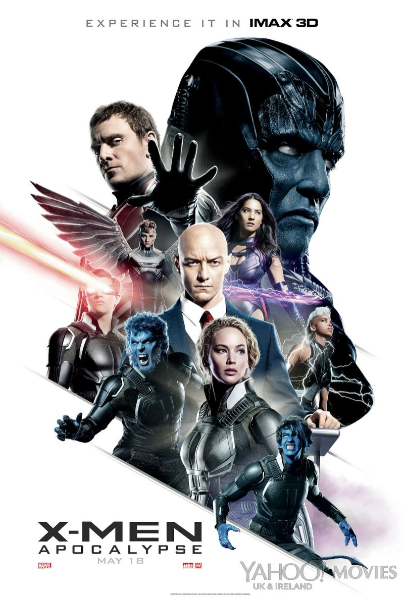 X Men Apocalypse (2016) Movie BRRip 720p Download With ESub