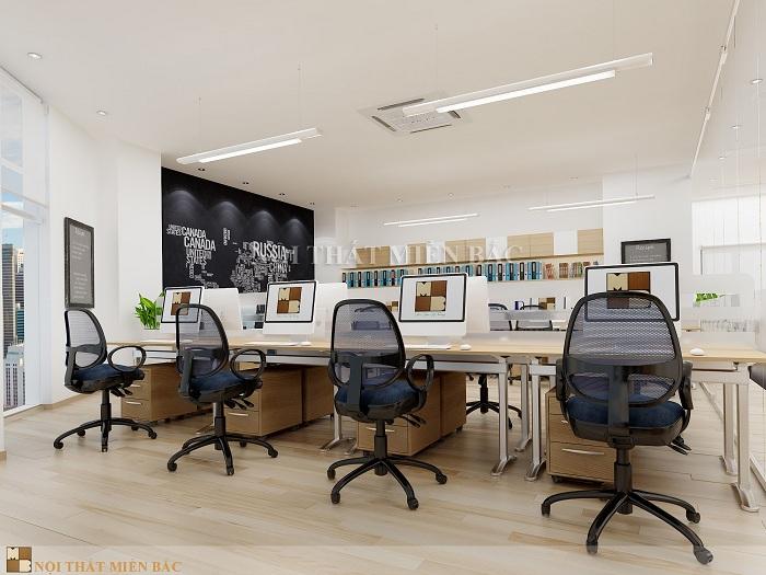 Tư vấn thiết kế phòng làm việc đẹp cho không gian nhỏ - H3