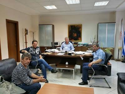 Συνάντηση Δημάρχου Ηγουμενίτσας με το Εργατικό Κέντρο Θεσπρωτίας