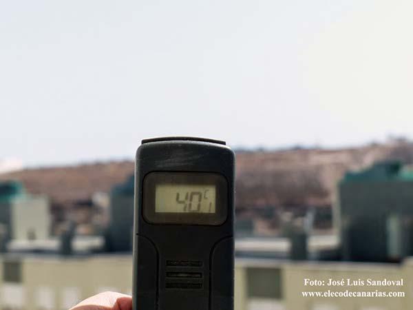 Finaliza alerta por temperaturas máximas en Gran Canaria, 27 agosto
