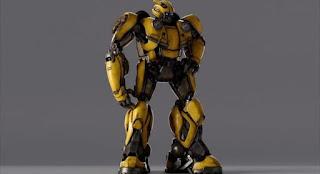 Klip Fitur Bumblebee Terbaru Memeperlihatkan Desain Robot Transformers Generasi Pertama