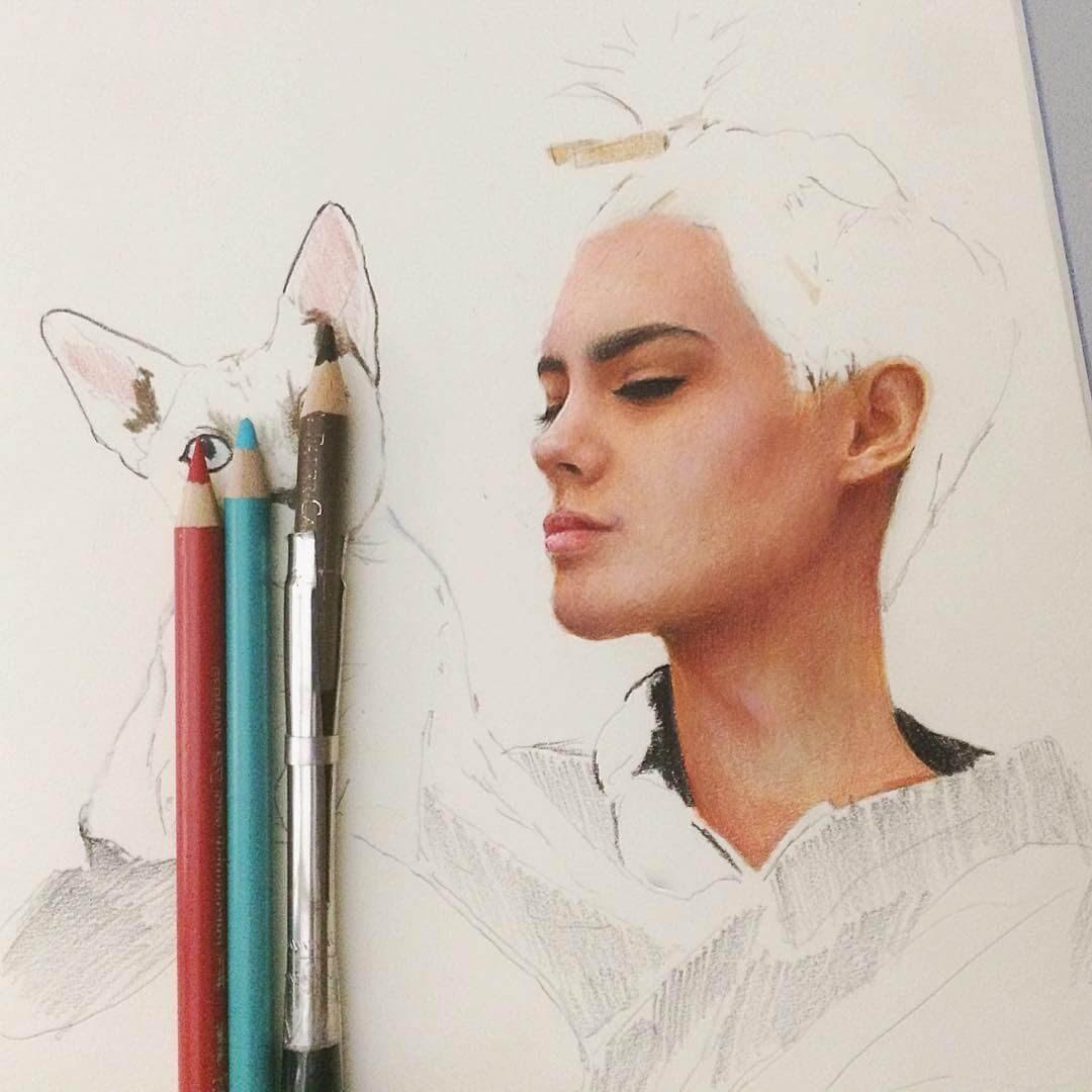 08-Marat-Utamuratov-WIP-Realistic-Portrait-Sketches-www-designstack-co