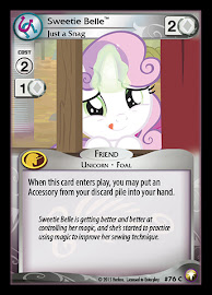 My Little Pony Sweetie Belle, Just a Snag Equestrian Odysseys CCG Card