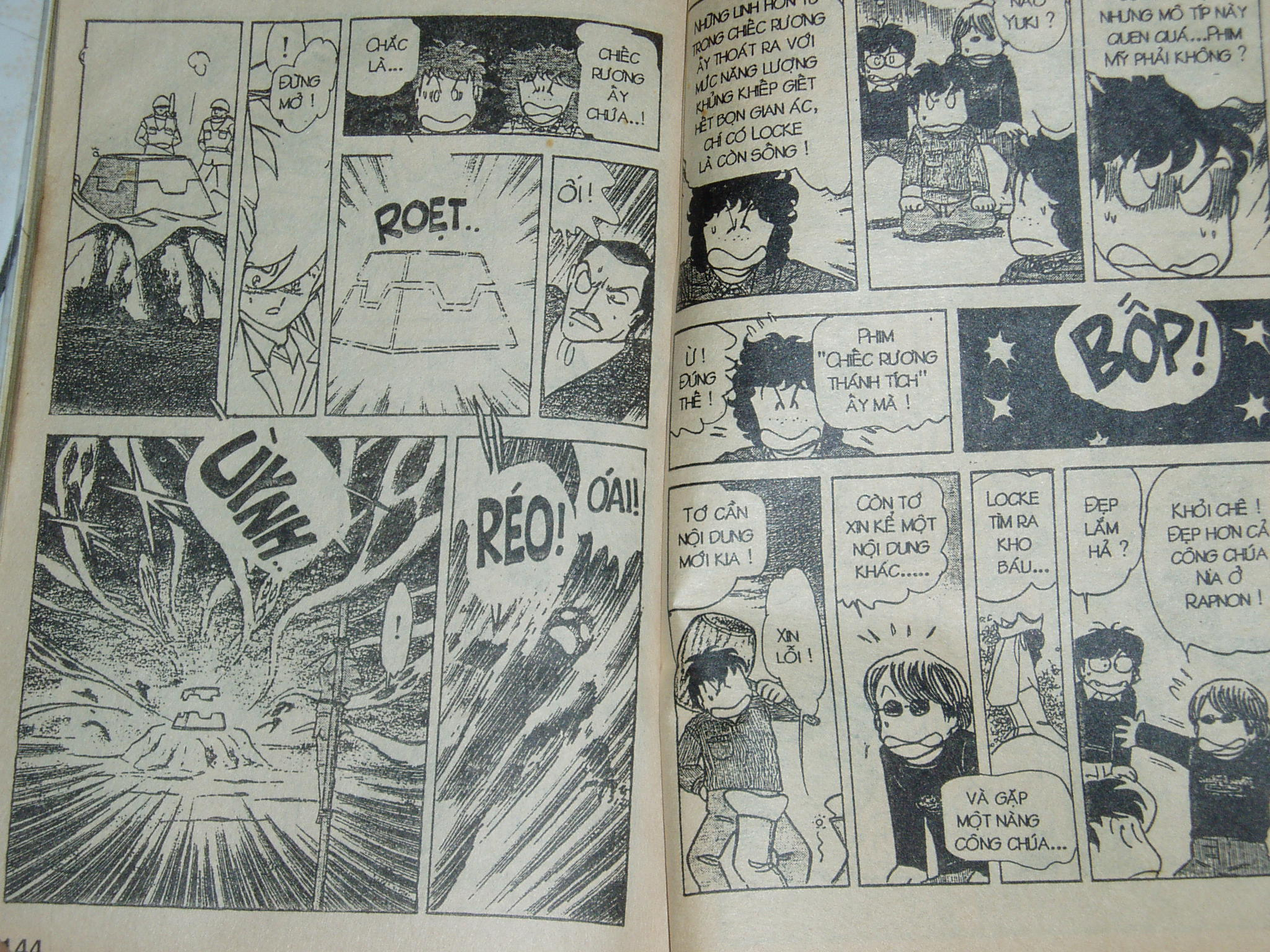 Siêu nhân Locke vol 18 trang 71