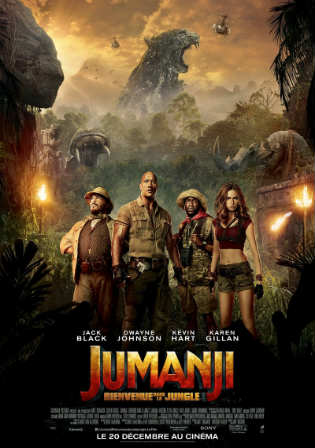Jumanji Welcome to The jungle 2017 HC HDRip 400MB Hindi Dual Audio 480p Watch Online Full Movie Download bolly4u