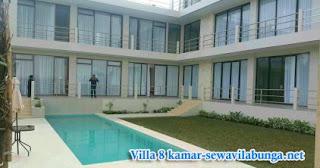 Villa Private Pool Bangunan Lebih Baru