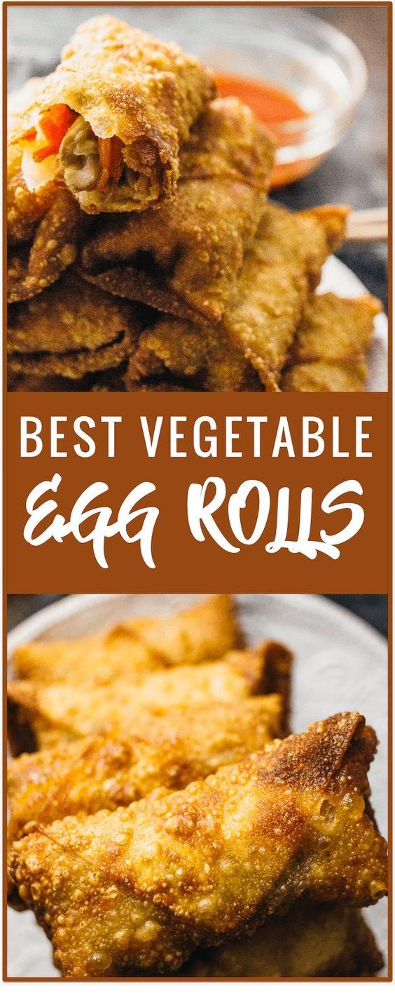 Crazy Good Vegetable Egg Rolls