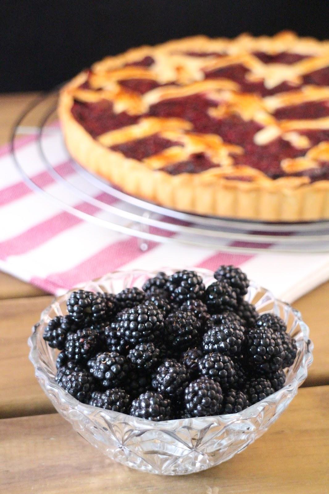 pie-de-moras-y-nectarinas, blackberry-pie