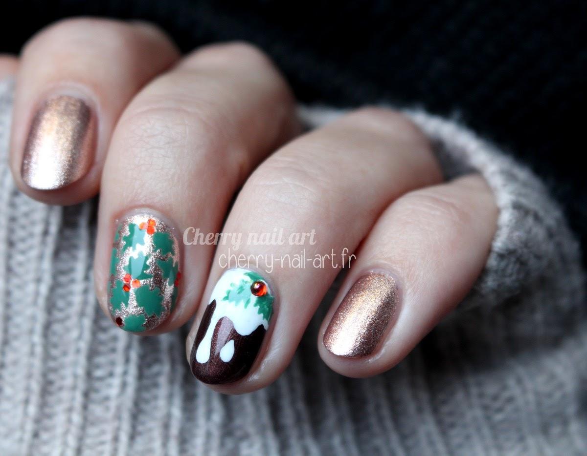 nail-art-noël-facile-vernis-cupcake-houx