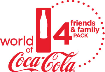 World of Coca-Cola Friends & Family Four-Pack Ticket Offer
