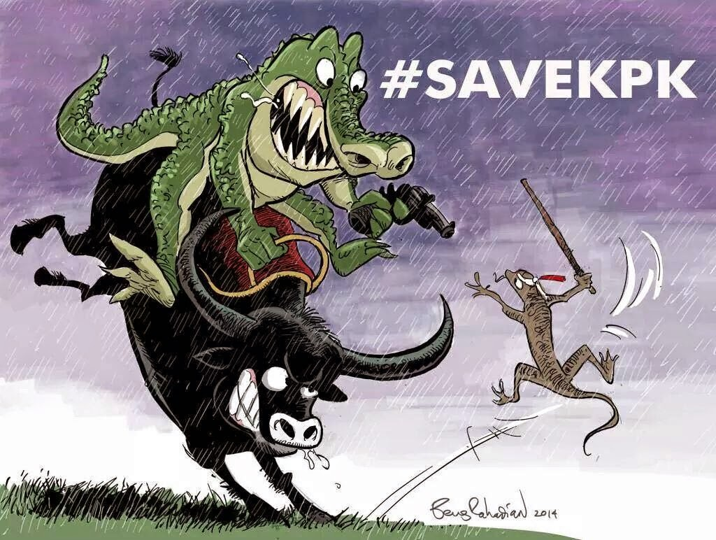 DP BBM Save KPK Save Indonesia SaveKPK Cicak Vs Buaya Vs
