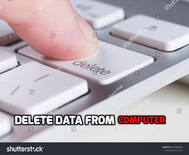 Delete Permanently Data From Computer .