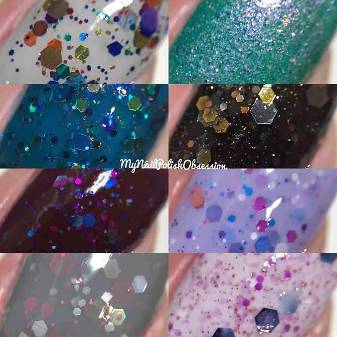 My Nail Polish Obsession: KBShimmer: Throwback Collection