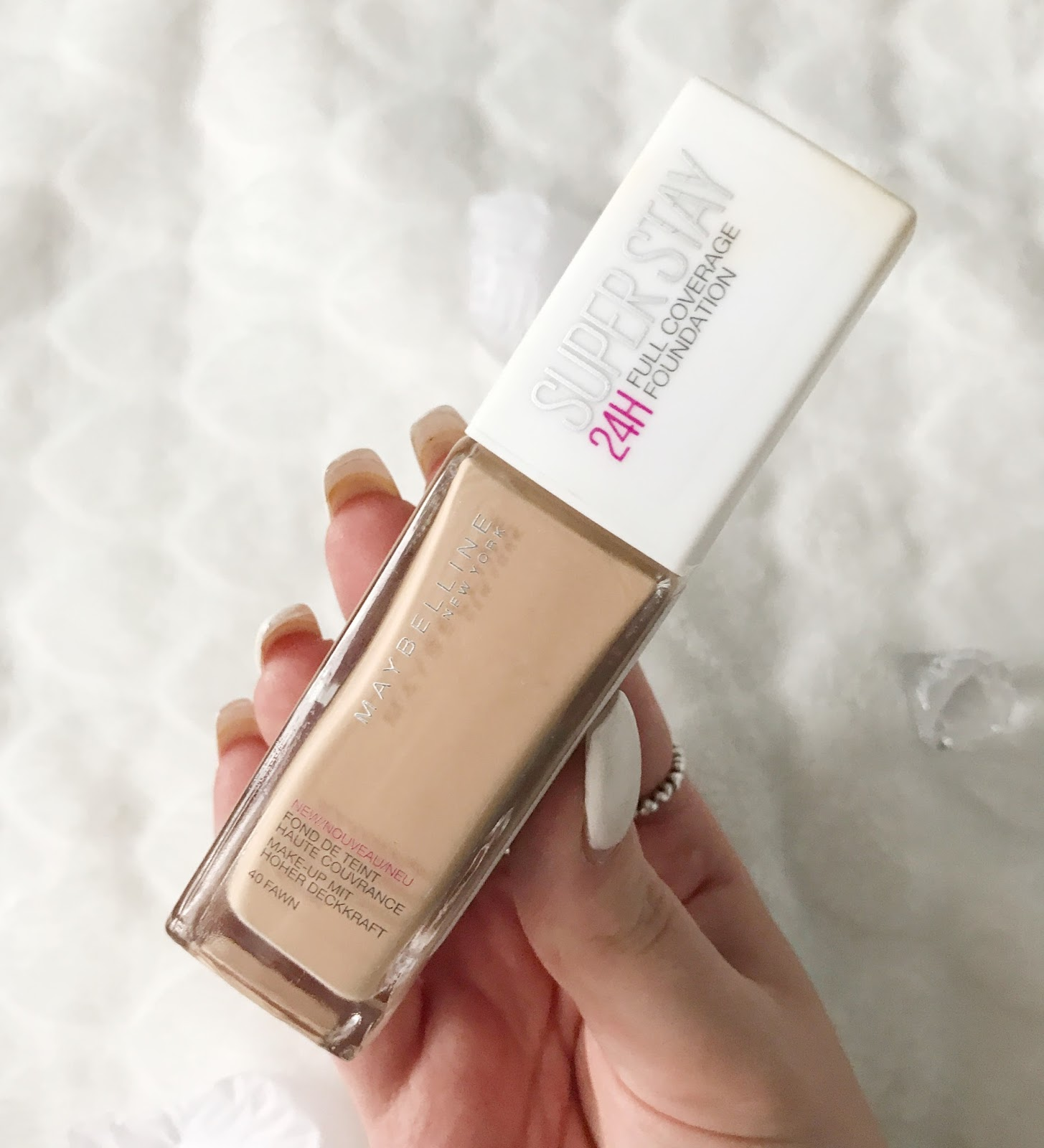 Maybelline SuperStay 24 Hour Foundation Review