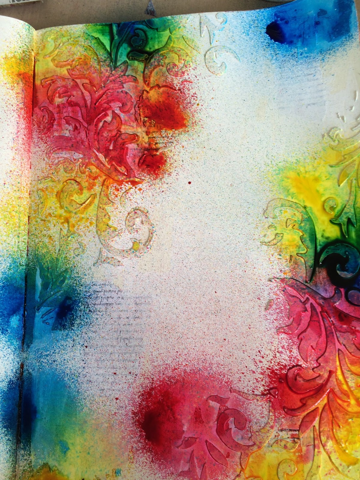 The Artistic Stamper Creative Team Blog Inspiration Using Red Yellow And Blue By Debs