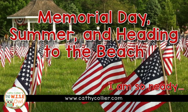 Are you ready for the summer?  I am.  Here's a post about our favorite things about the summer beginning with Memorial Day and breathing the beach air.