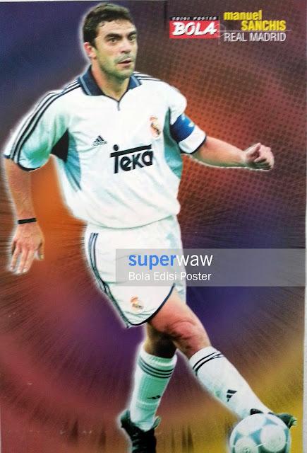 Bola Edisi Poster -  La Casa Blanca Real Madrid
