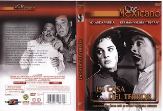 Carátula dvd: La casa del terror