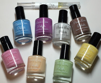 Paint Box Polish, Ciao, Gelato! collection, Spring 2016