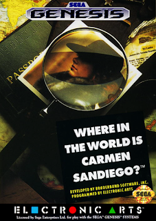 Where in the World is Carmen Sandiego? (BR) [ SMD ]