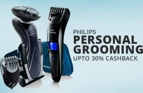 Philips Personal Grooming Appliances :  Upto 53% Off + Extra 25% Paytm Cashback @ Paytm