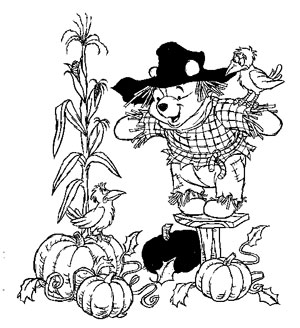 turkey fall coloring pages | Thanksgiving Coloring Pages: Thanksgiving Fall Coloring Pages