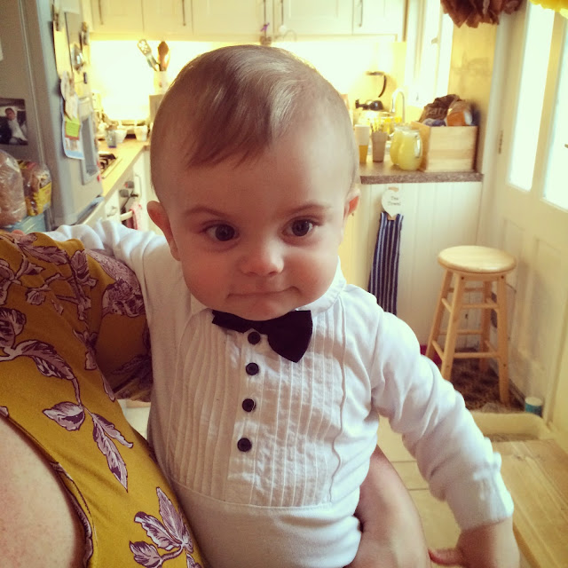 Baby Bert in a Tux