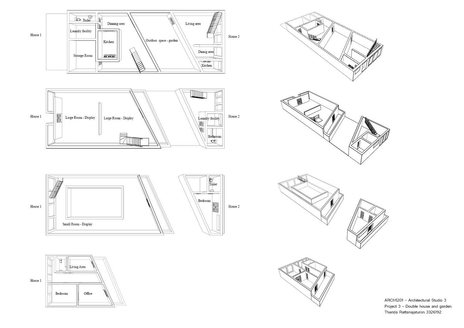Arch Architectural Design Studio 3 Project 3 Final
