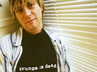 grunge is dead t-shirt as worn by Kurt Cobain