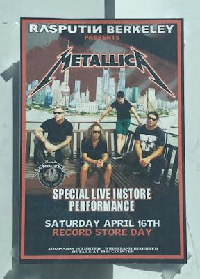 Metallica - Rasputin Music - Show 2016