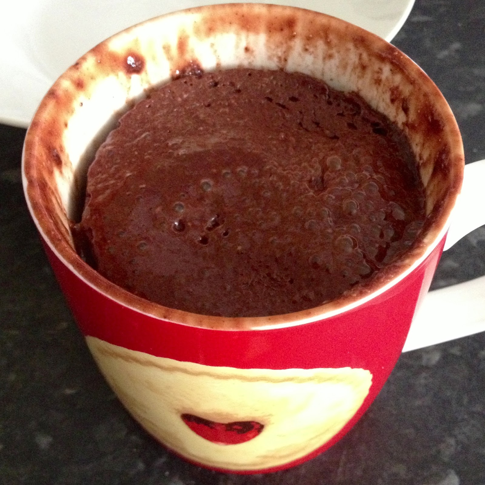 Low Carb Chocolate Protein Mug Cake
