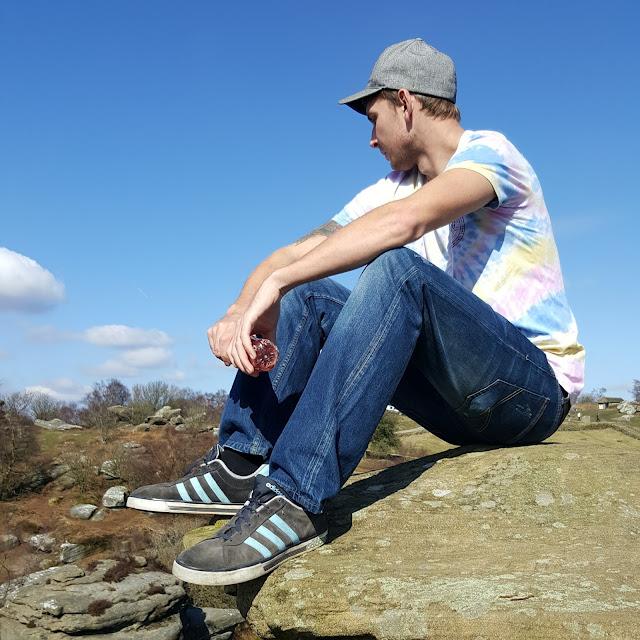 jody at brimham rocks